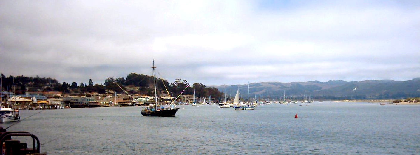 view Morrow Bay with boats